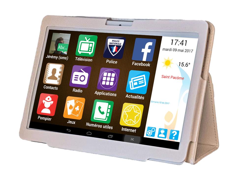 tablette pour personnes agees digital seniors. Black Bedroom Furniture Sets. Home Design Ideas