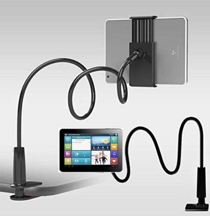 support flexible tablette digital seniors. Black Bedroom Furniture Sets. Home Design Ideas